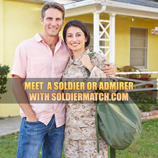 dating site for soldiers I always hear horror stories about dating military guys and have met a couple awful military guys myself (violent, immature, threatened me) i.